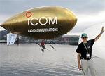 Partenariat ICOM traversee manche en ballon zeppy Partnerships ICOM