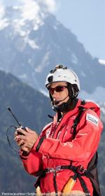 Partenariat ICOM speedflying et wingsuit Arnaud Longobardi Partnerships ICOM
