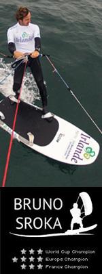 champion kitesurf Sroka partenaire ICOM Partnerships ICOM