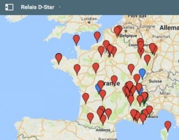 liste-relais D-Star - Infos utiles ICOM