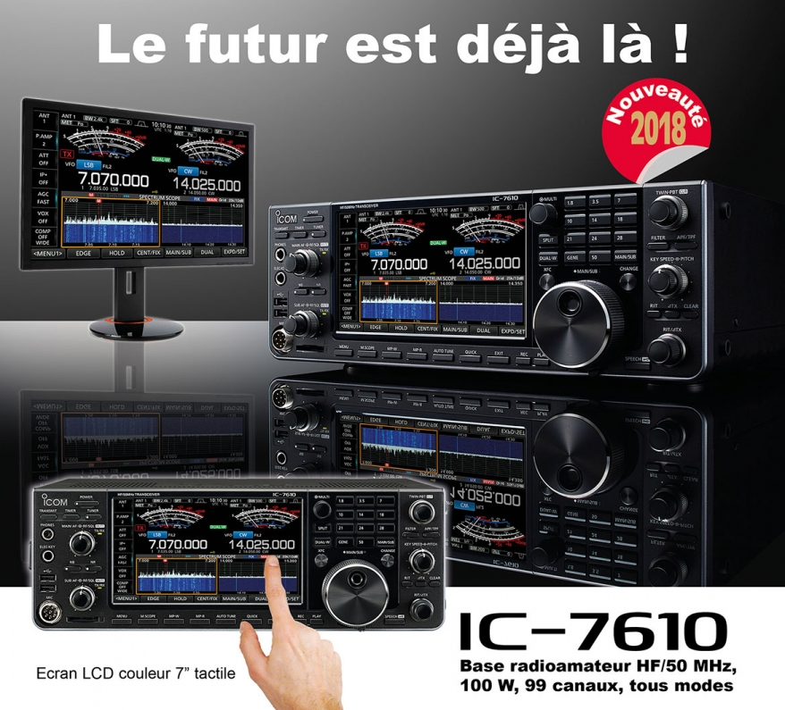 ic-7610-4 Focus IC-7610 ICOM