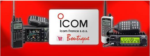 boutique radioamateur icom france