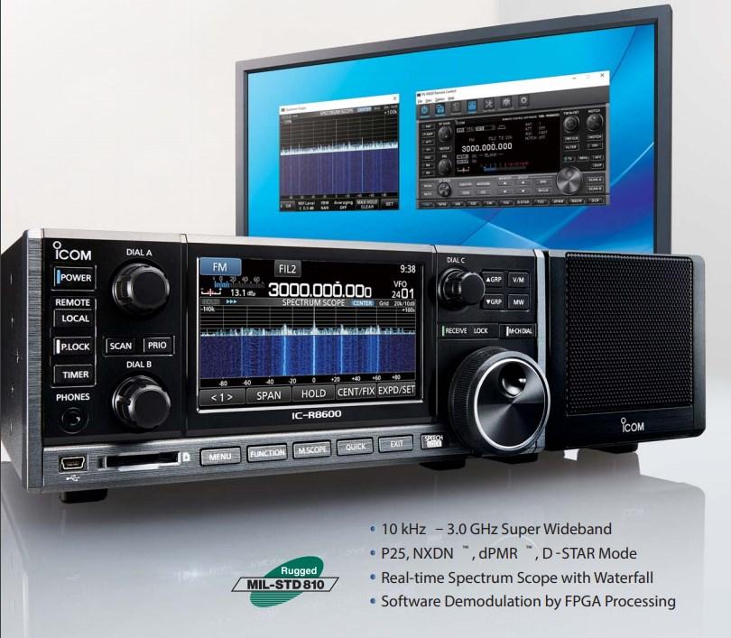 r8500 Receiver ICOM