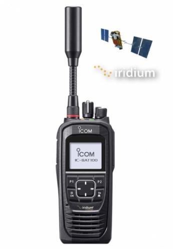 sat100 portatif Satellite ICOM